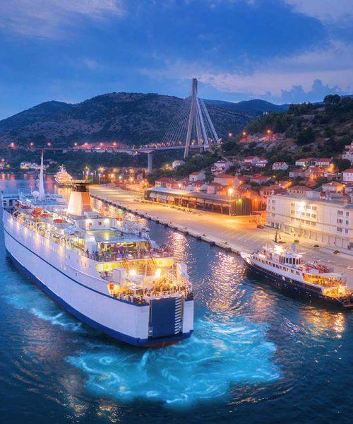 aerial-view-of-cruise-ship-at-harbor-at-night-small